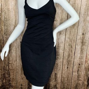 Express Dresses - Stretch Sleeveless Bodycon Little Black Dress